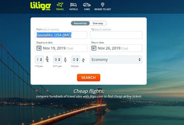 liligo flights